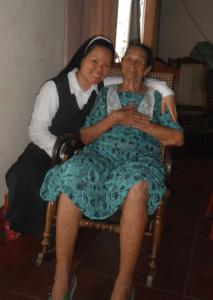 visitas a Nicaragua. Cumpleaños Hna. Claudina y otros 035